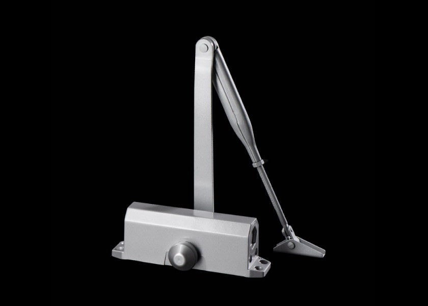 Fireproof Aluminum Door Closer UL Listed Speed Adjustable For All Temp. District